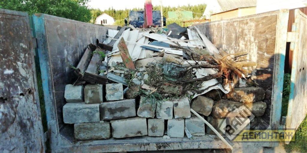 Демонтаж фундамента из блоков 05