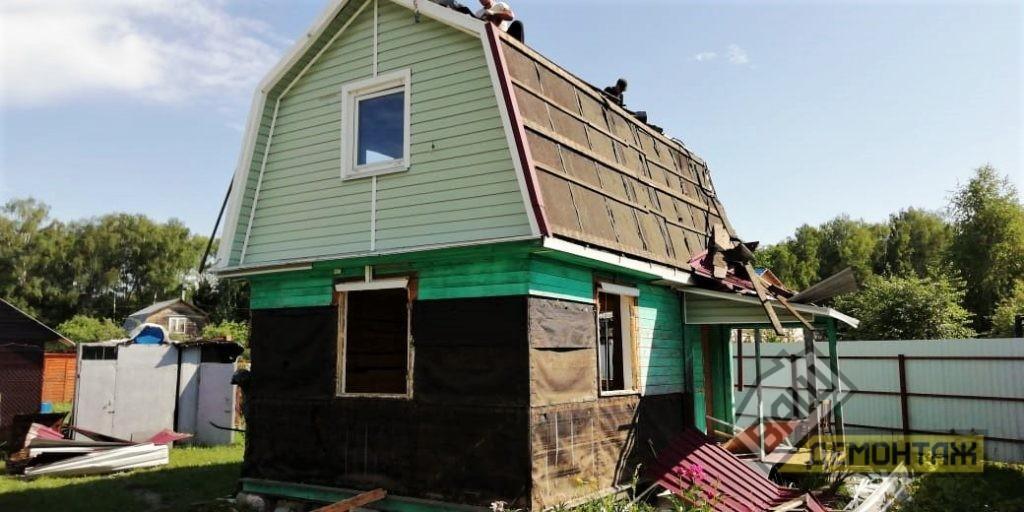Демонтаж каркасного дома 02