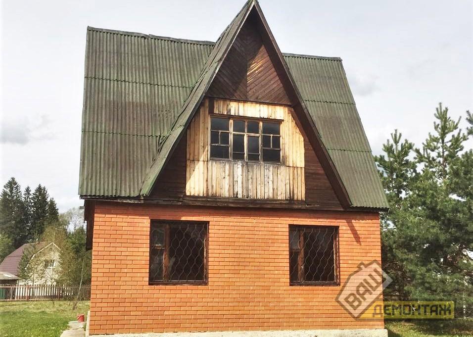 Демонтаж загородного дома 01