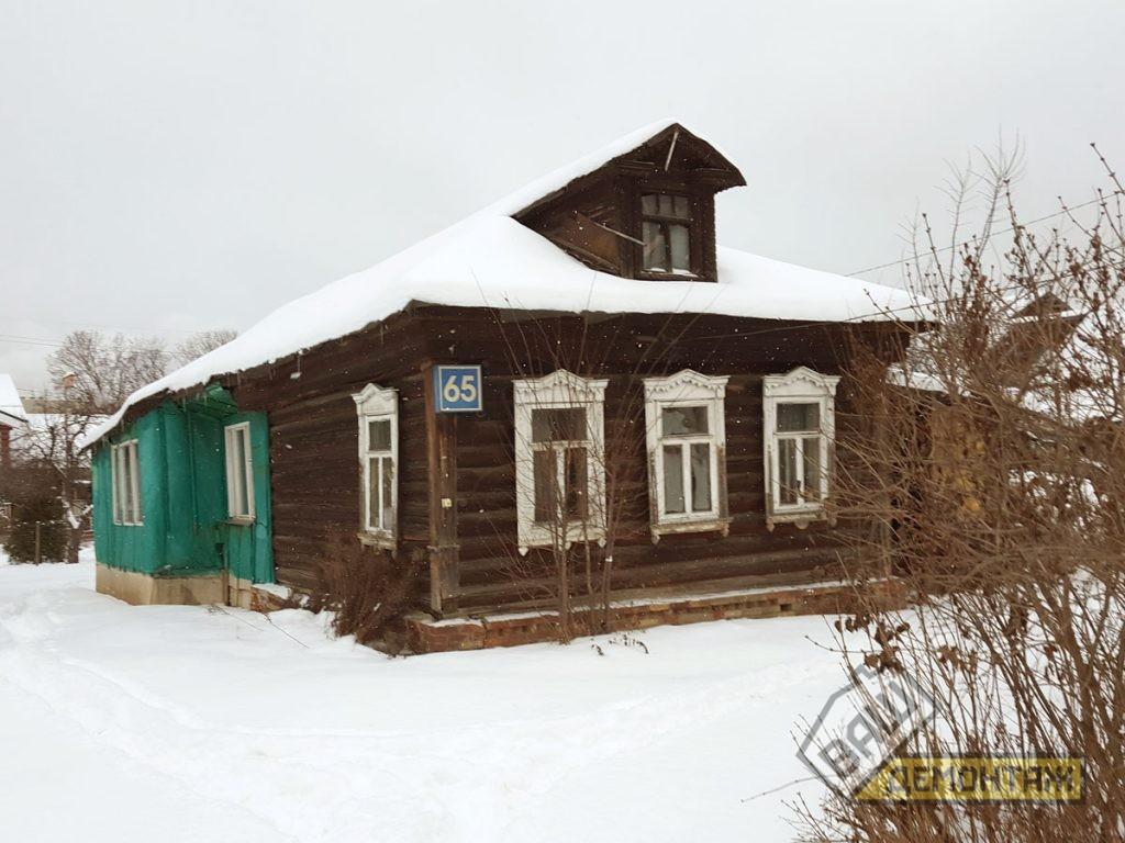 Сколько стоит снос старого деревянного дома. Пушкинский район 01