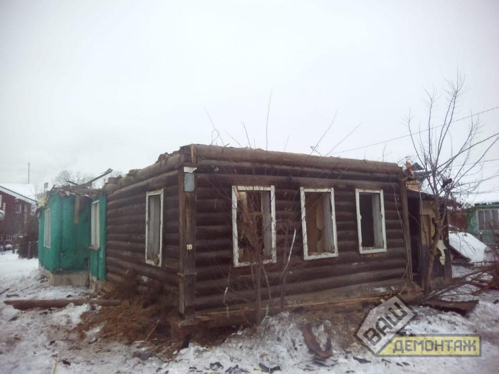 Сколько стоит снос старого деревянного дома. Пушкинский район 03