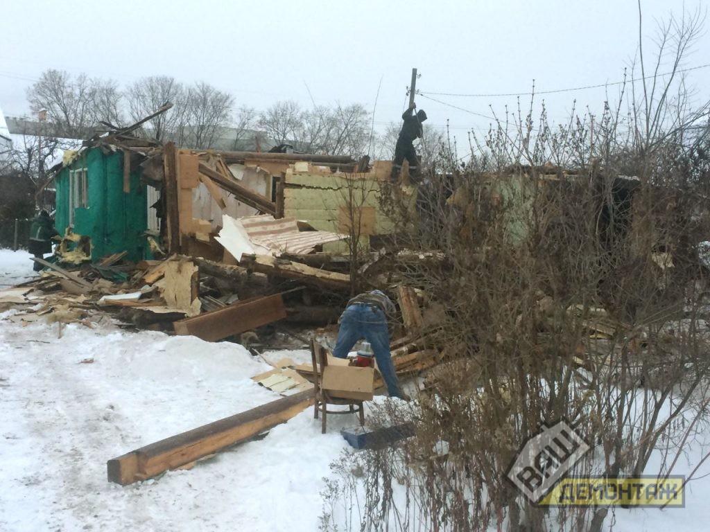 Сколько стоит снос старого деревянного дома. Пушкинский район 04