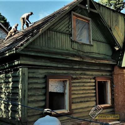 Снос ветхого дома