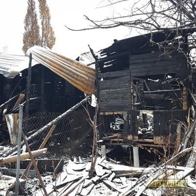 дом после пожара Одинцовский район кв